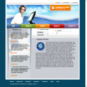 Free Business Corporate Web Template Web Format