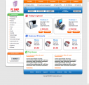 Free Computer Store Web Template Design Web Format