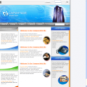 Computer Company Theme Web Template Web Format