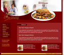 HTML Template for Restaurant Web Format