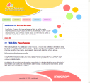Colorful Web Template HTML Web Format
